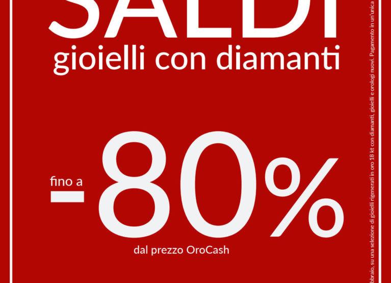 GIOIELLI CON DIAMANTI SALDI -80%